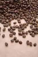 café no papel foto