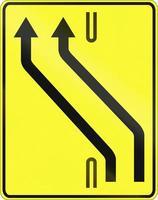 cruzamento de pista na polônia foto