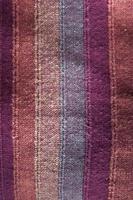 textura de tecido listrado foto