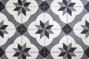cerâmica de piso vintage foto