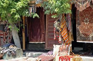 tapetes turcos antigos, anatólia foto