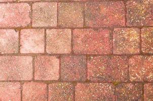 bloco de fundo de pavimentação foto