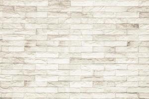 fundo de textura de parede de tijolo preto e branco foto