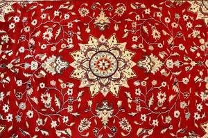 textura do tapete persa foto