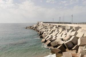 cubos de quebra-mar foto