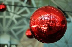 bola vermelha foto