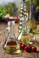 garrafa com azeite foto