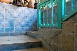 escada rústica foto