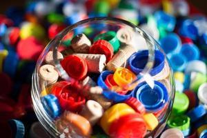 vidro e plástico