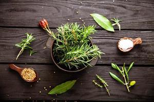 ingredientes mediterrâneos foto