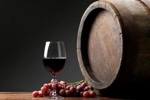 vinho com barril