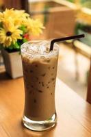 café gelado foto