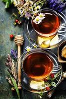 chá de ervas foto