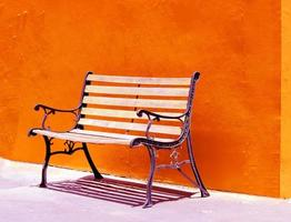 cadeira de metal foto