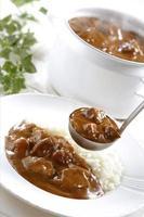 curry de carne foto
