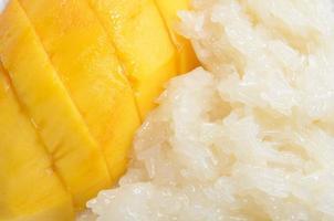 manga com arroz pegajoso foto