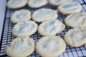 biscoitos de açúcar caseiros foto