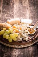 composição de queijo foto