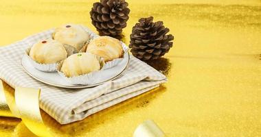deliciosa padaria marrom no prato