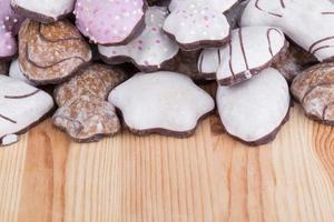 muitos biscoitos de natal