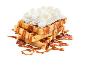 waffles belgas foto