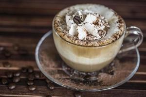 café branco foto