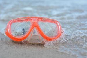 máscara para mergulho foto