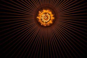 lâmpada de decoração de iluminação foto