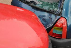 impacto do automóvel