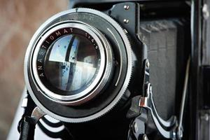 câmera retro velha