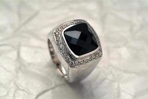 anel de diamante - foco diferencial