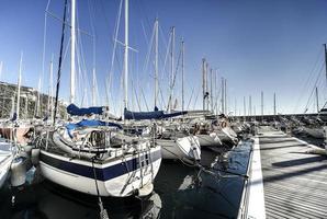 veleiros no porto
