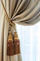 borlas de cortina foto