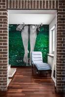 corredor em casa moderna
