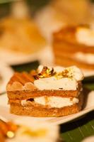 sobremesas e comida foto