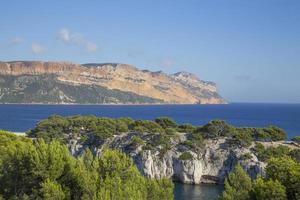 Calanques de Cassis, perto de Marselha foto