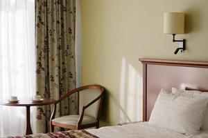 interiores de quartos de hotel