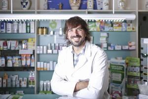 farmacêutico masculino