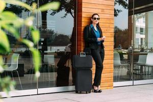 mulher de negócios elegante foto