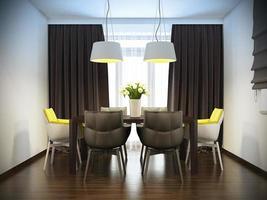 interior moderno da cozinha foto