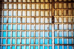textura de porta deslizante japonesa shoji foto