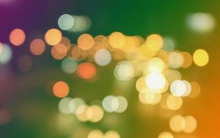 semáforos coloridos bokeh foto