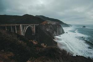Bixby Creek Bridge, Califórnia foto
