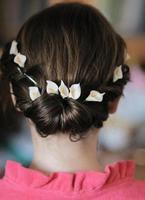 penteado de casamento foto
