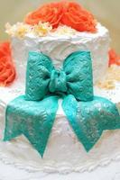 bolo de casamento. foto
