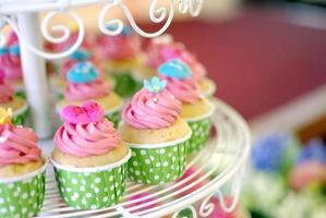 camada de cupcakes foto