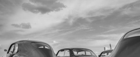 carros vintage de luxo foto