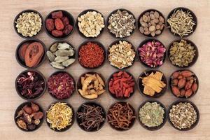Medicina chinesa foto