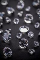 diamantes brilhantes foto