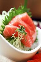 salmão fumado foto